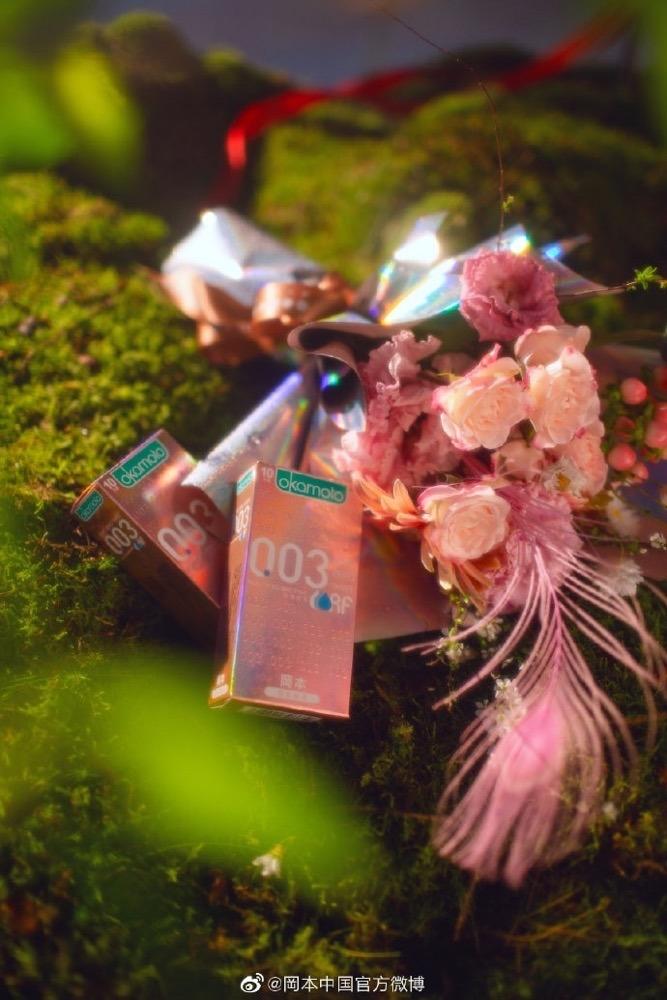 冈本,把浪漫系联名玩出了花